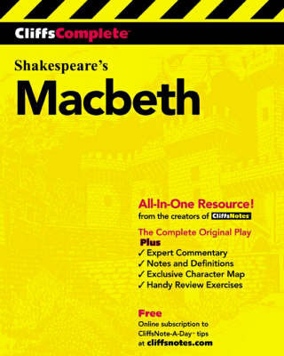 CliffsComplete Shakespeare's Macbeth by William Shakespeare