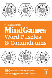 The Times Mind Games Word Puzzles and Conundrums Book 1 by The Times Mind Games