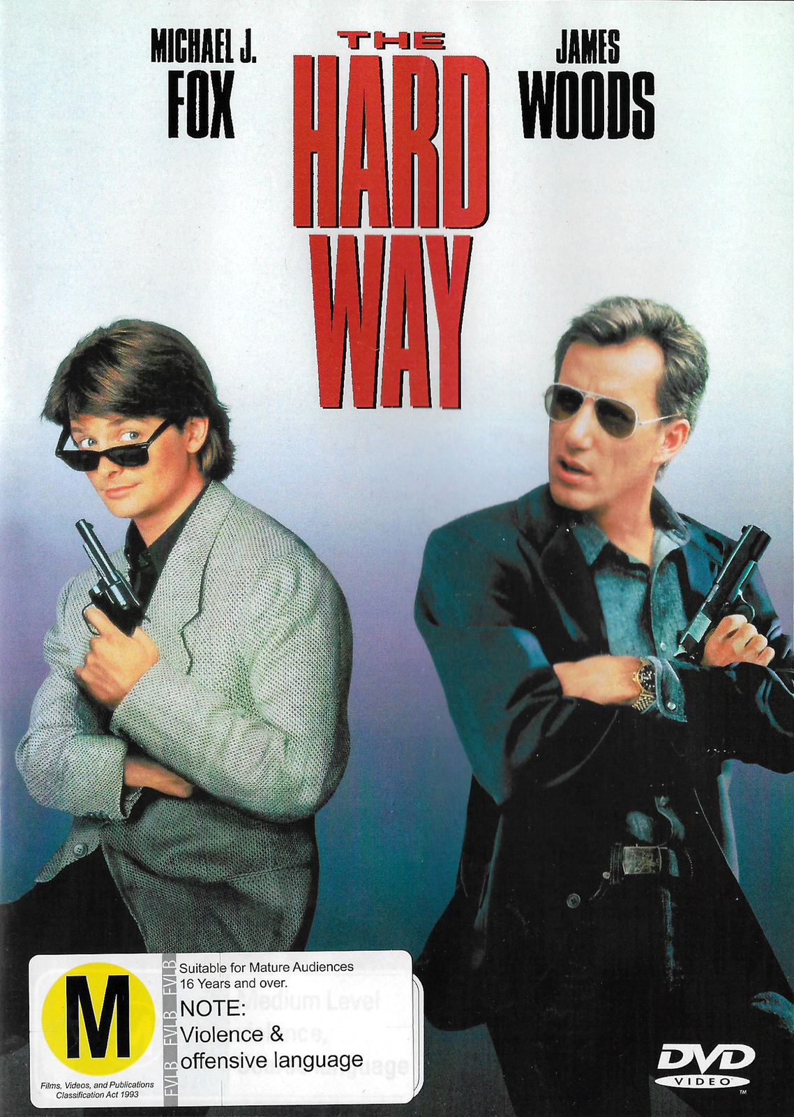 The Hard Way on DVD image
