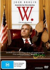 W. (George W Bush) on DVD
