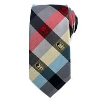 Marvel Comics - Plaid Mens Silk Tie