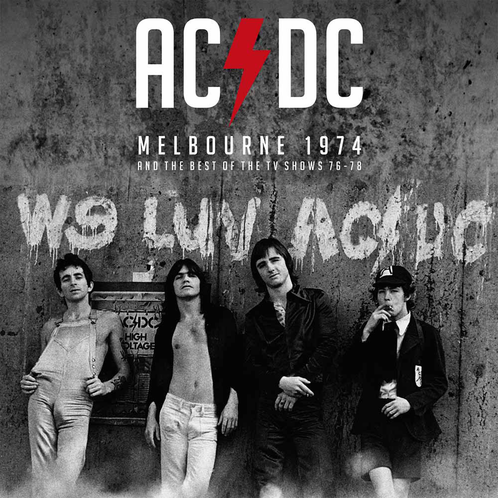 Melbourne 1974 & The TV Collection by AC/DC image