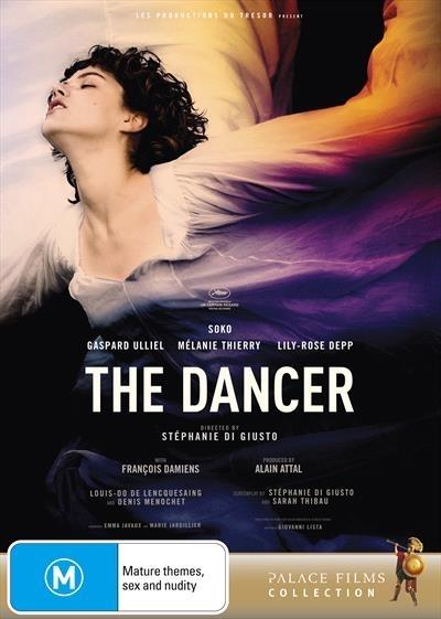 The Dancer on DVD image