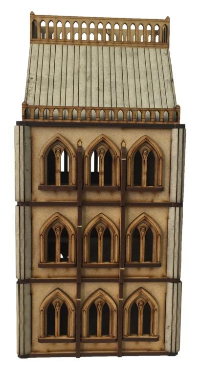 TTCombat: Tabletop Scenics – Gothic Brownstone image