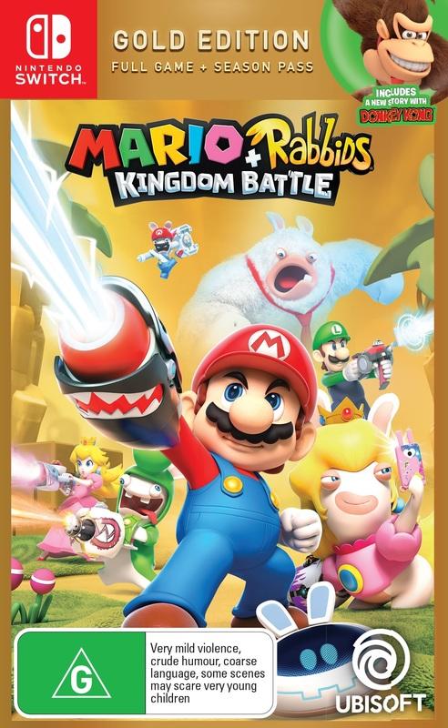 Mario + Rabbids: Kingdom Battle Gold Edition for Nintendo Switch