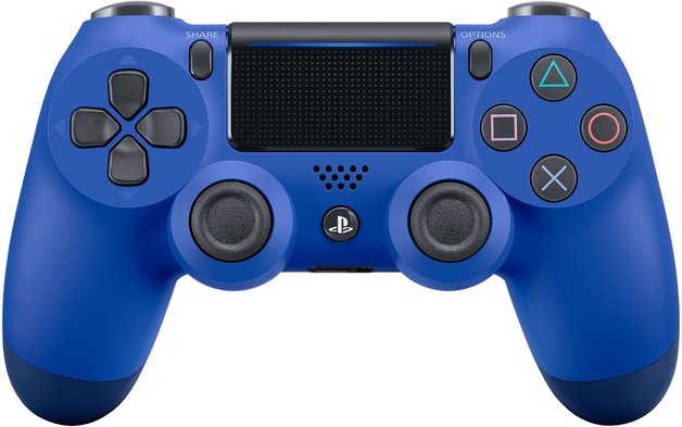 PlayStation 4 DualShock 4 v2 Wireless Controller - Wave Blue for PS4