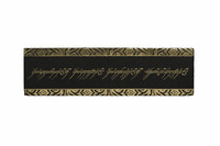 Lord of the Rings: The One Ring Inscription Bookmark