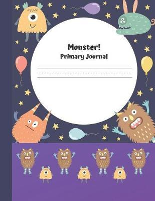 Monster Primary Journal by Precious Paper image