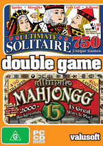2 In 1 Solitaire 750 / Mahjongg 15 for PC