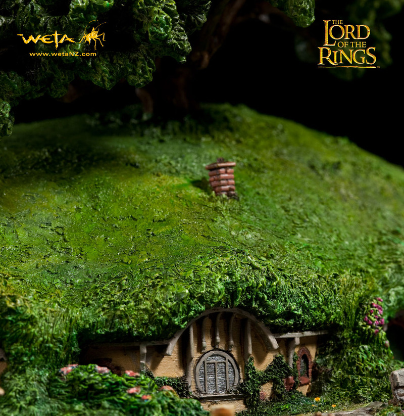Lord of the Rings Bag End Statue image