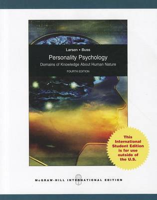 Personality Psychology: Domains of knowledge about human nature by Randy J. Larsen