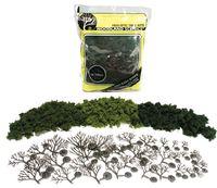Woodland Scenics Lt Med Dk Green Trees (36 pack)