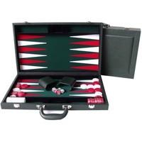 "Dal Rossi Backgammon 15"" PU Leather - Green"