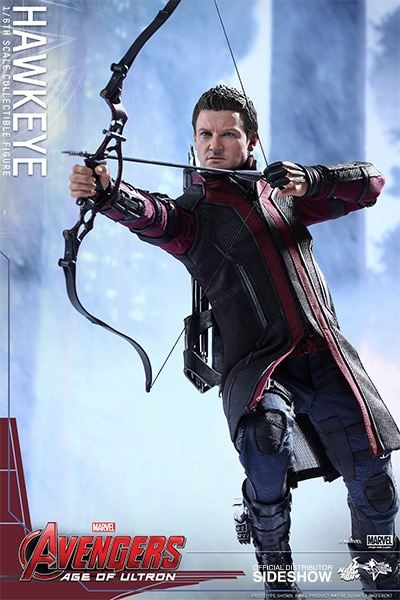 "Hot Toys Avengers 2 Hawkeye 12"" Figure"