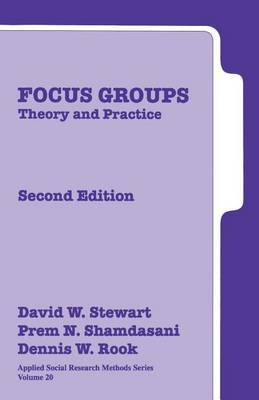 Focus Groups: Theory and Practice by David W. Stewart image