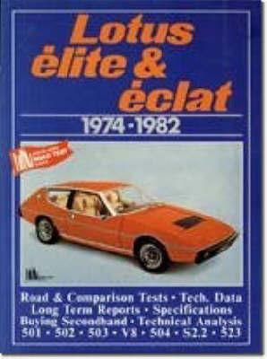 Lotus Elite and Eclat, 1974-82