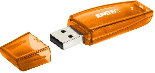 128GB Emtec C410 USB Flashdrive (Orange)