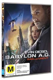 Babylon A.D. on DVD