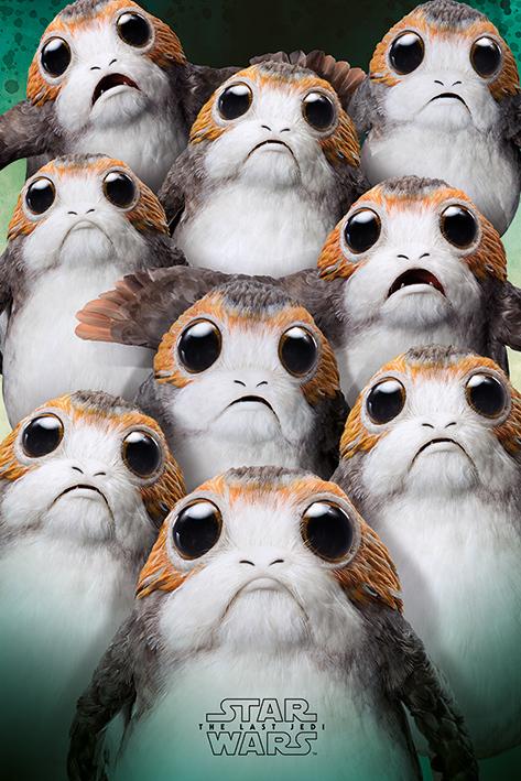 Star Wars The Last Jedi Maxi Poster - Many Porgs (674)