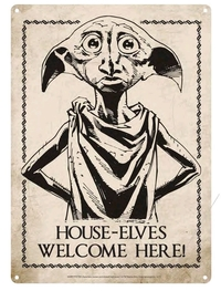Harry Potter - Dobby Small Tin Sign