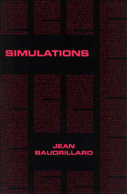 Simulations by Jean Baudrillard