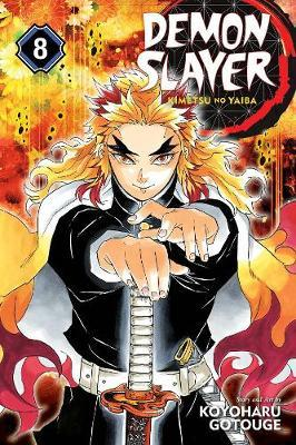 Demon Slayer: Kimetsu no Yaiba, Vol. 8 by Koyoharu Gotouge