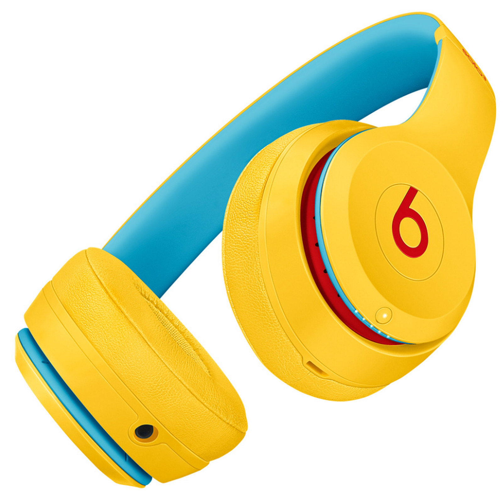 Beats Solo3 Wireless On-Ear Headphones - Club Yellow image