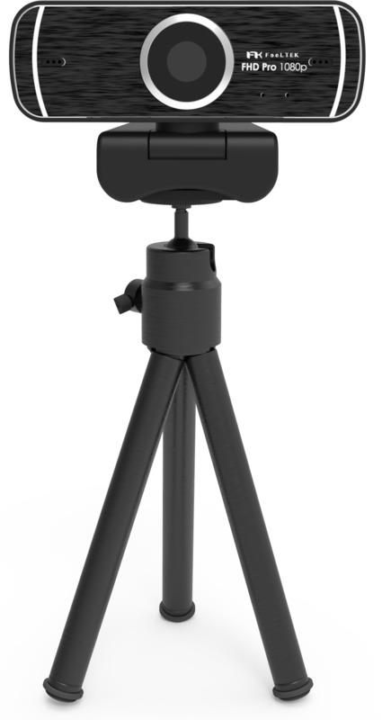 Feeltek Elec Pro FHD 1080p Webcam w/ Tripod
