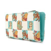 Loungefly: Disney: Mint Checker Wallet
