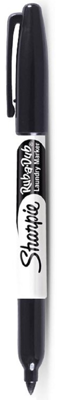 Sharpie Rub-A-Dub Laundry Marker Black