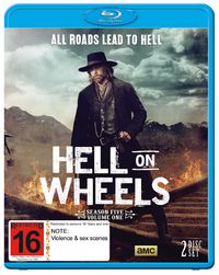 Hell on Wheels: Season Five - Part 1 on Blu-ray