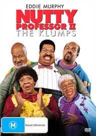 Nutty Professor II: The Klumps on DVD