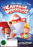 Captain Underpants on DVD