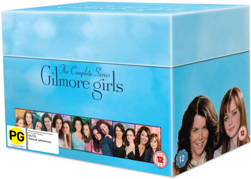 Gilmore Girls: The Complete Seasons 1-7 on DVD image