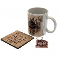 Harry Potter - Marauders Map (Mug & Coaster & Keychain)