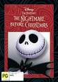 The Nightmare Before Christmas on DVD