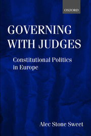 Governing with Judges by Alec Stone Sweet image