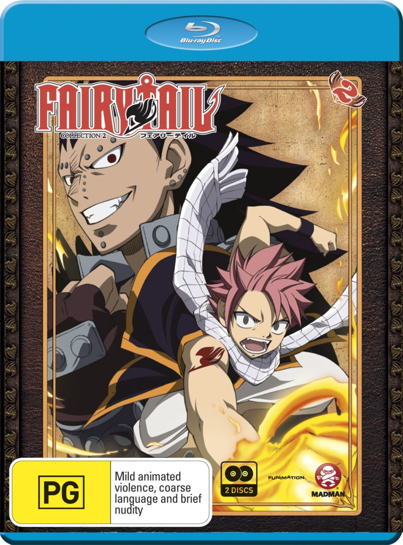 Fairy Tail - Collection 2 on Blu-ray image