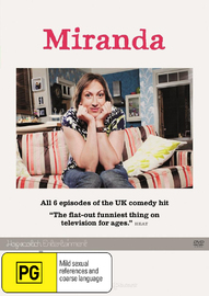 Miranda - Series 1 on DVD