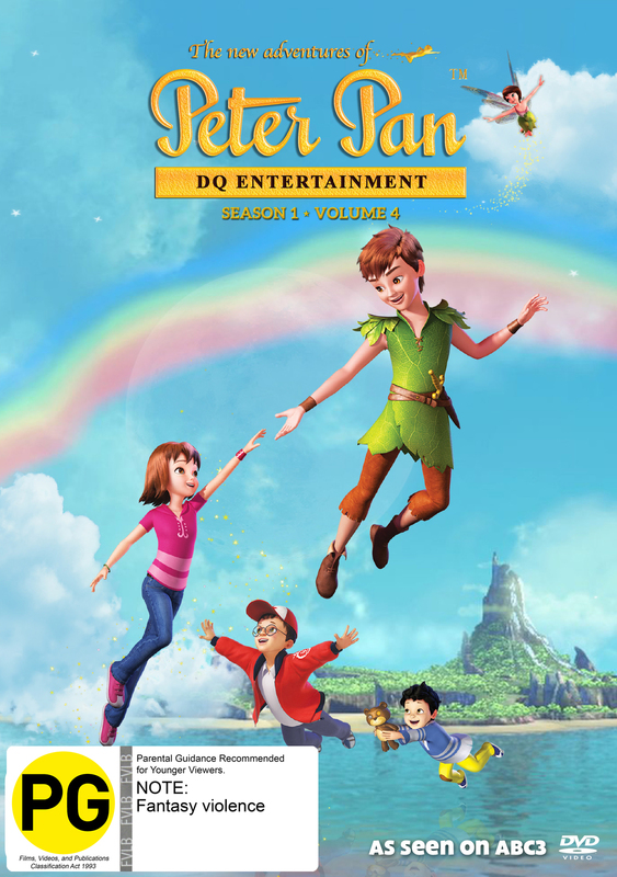 The New Adventures Of Peter Pan: Season 1 - Volume 4 on DVD