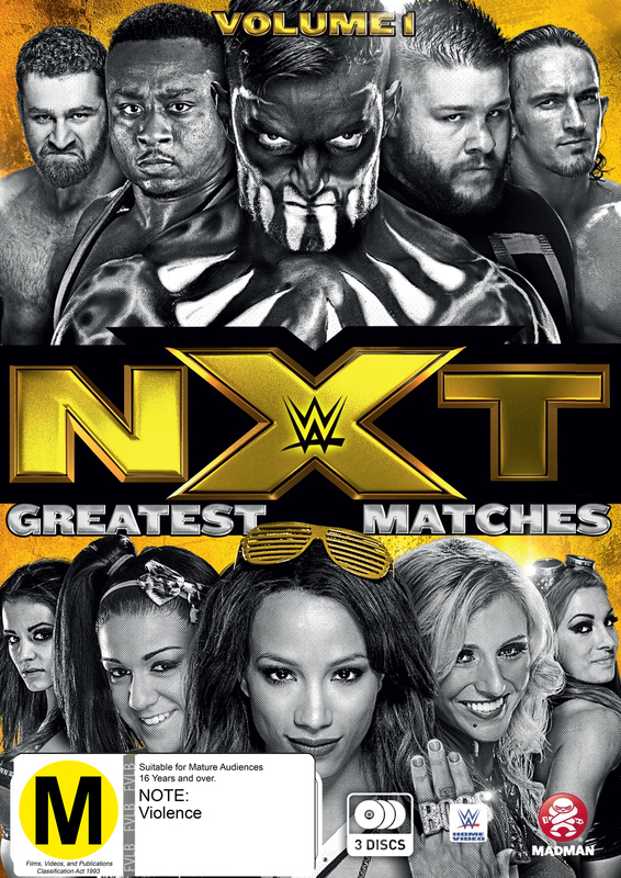 WWE: NXT's Greatest Matches - Volume 1 on DVD