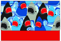 Spencil: Document Wallet - Sharks