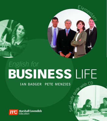 English for Business Life Self Study Guide: Elementary by Ian Badger image