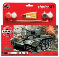 Airfix Cromwell MkIV Tank Starter Set 1/76 Model Kit