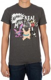Aaahh!!! Real Monsters - Charcoal Mens T-Shirt (2XL)