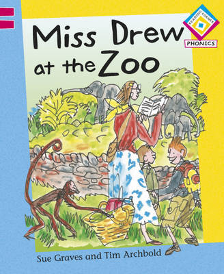 Miss Drew at the Zoo by Sue Graves