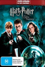 Harry Potter And The Order Of The Phoenix on HD DVD