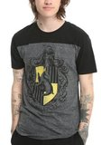 Harry Potter: Hufflepuff Mens Yoke T-Shirt (2XL)