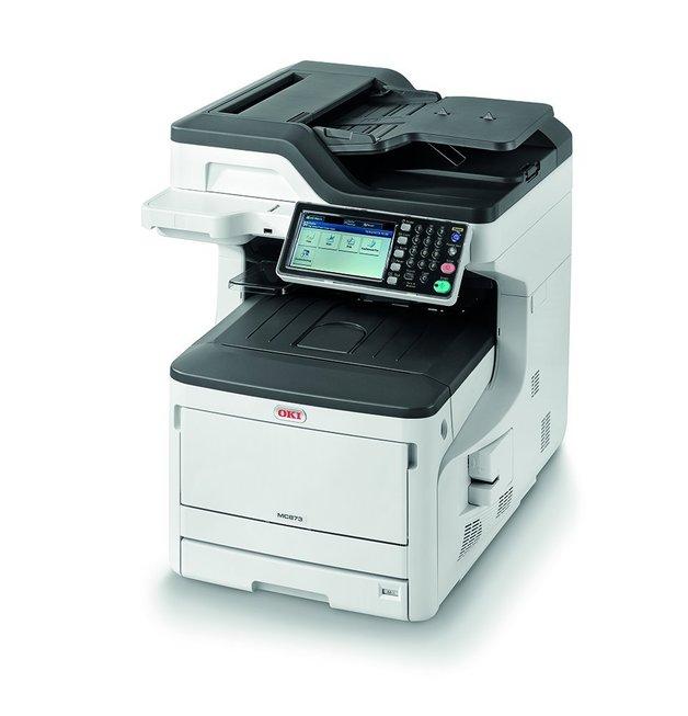 OKI MC873DN A3 35ppm Colour LED Multi Function Printer