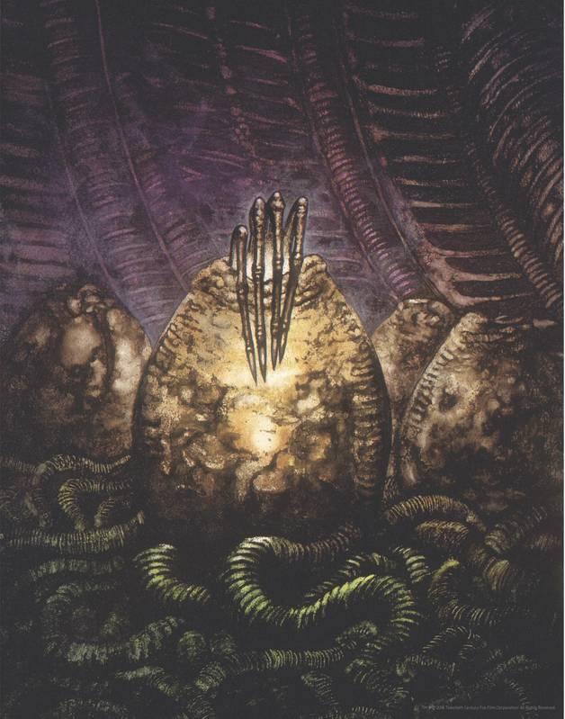 Alien: Premium Art Print - Xenomorph Egg